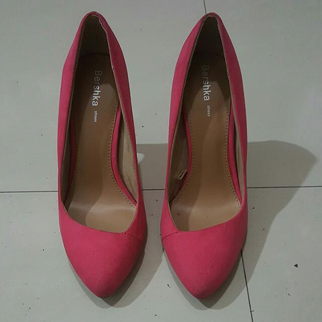Bershka Pink High Heels