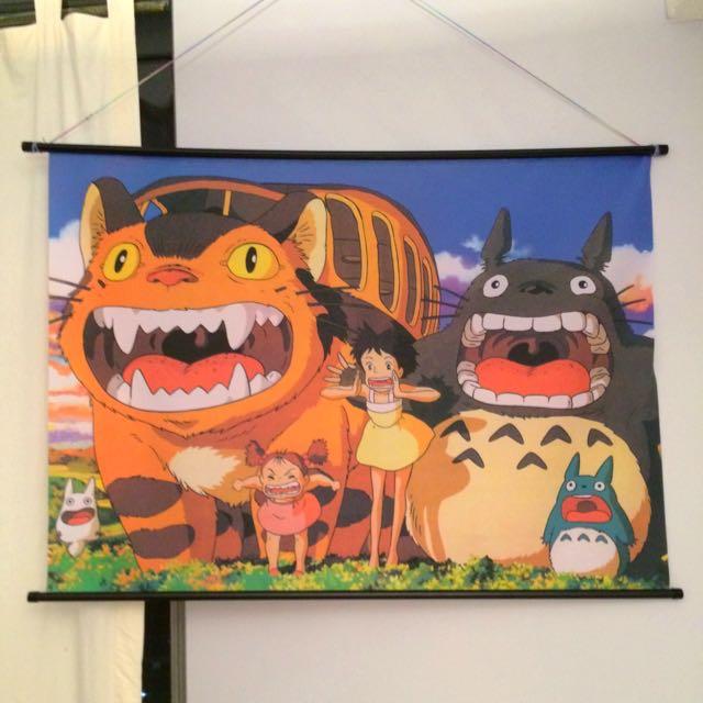 BIG My Neighbour Totoro Tapestry