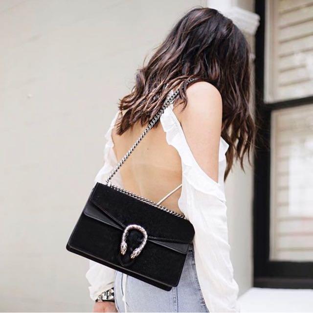 Black Donysius Bag