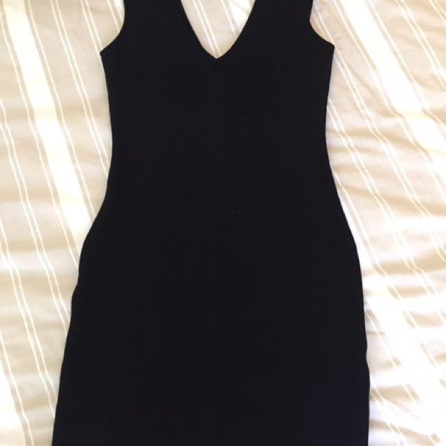Black Dress Forever 21 Size S
