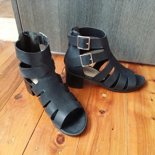 Buckle Heels Sandals