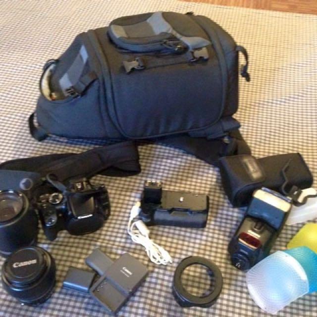 Canon XTI 350 model