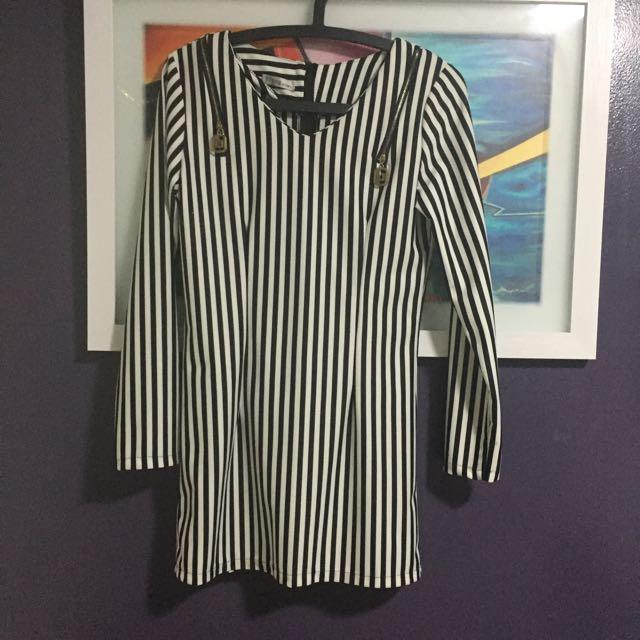 Casual Dress (stripes)