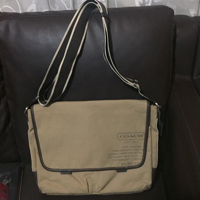 Coach Laptop / Messenger Bag