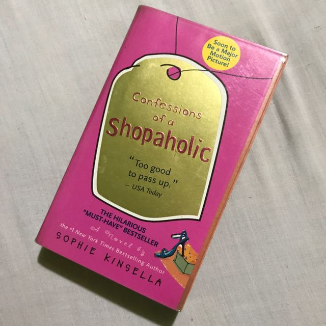 Confessions Of A Shopaholic- Sophie Kinsella Book