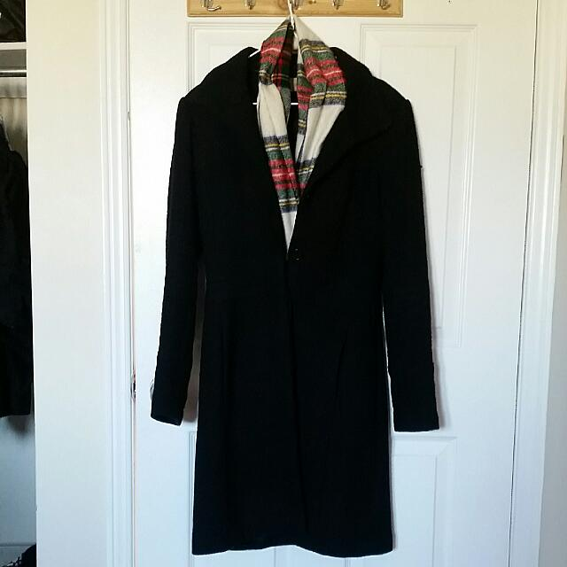 Costa Blanc XS Wool Coat