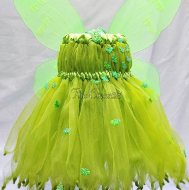 Customized Tinkerbell Inspired Tutugown, Babies & Kids, Girl\'s ...