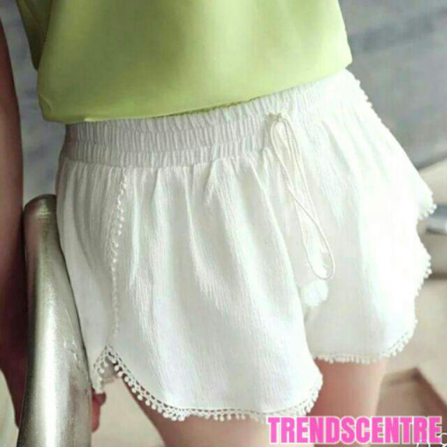 Cute Summer Beach Tassel Shorts (Tassle Shorts)