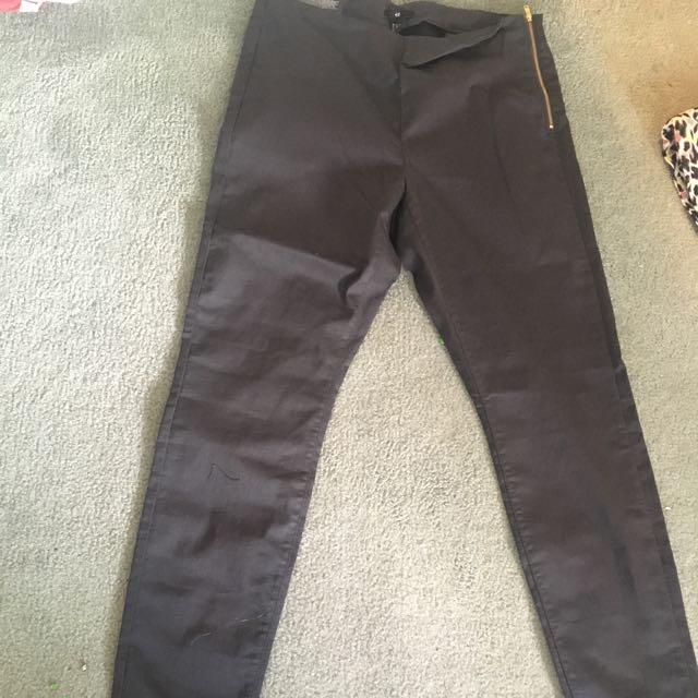 Dark Grey H & m Work Pants
