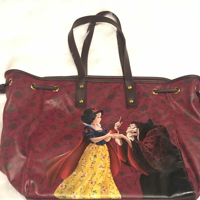 Disney Store Snow White And Old Hag Tote