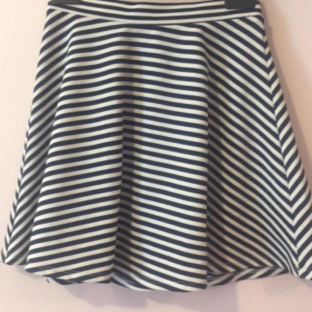 Dotti Stripe Skirt
