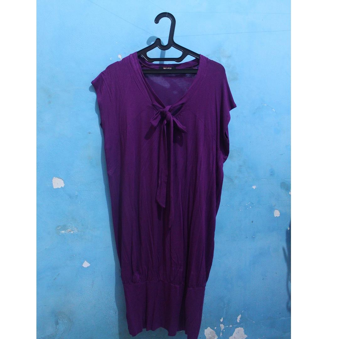Dress Ungu Magnolia