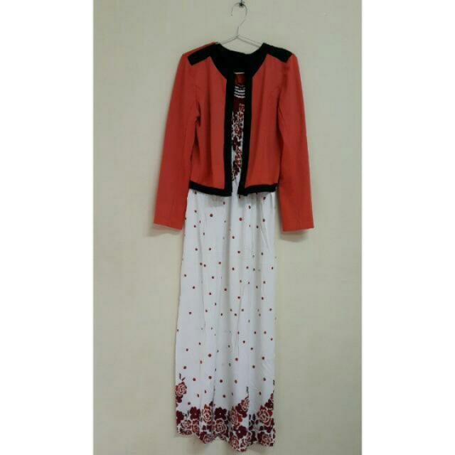 dress+cardigan
