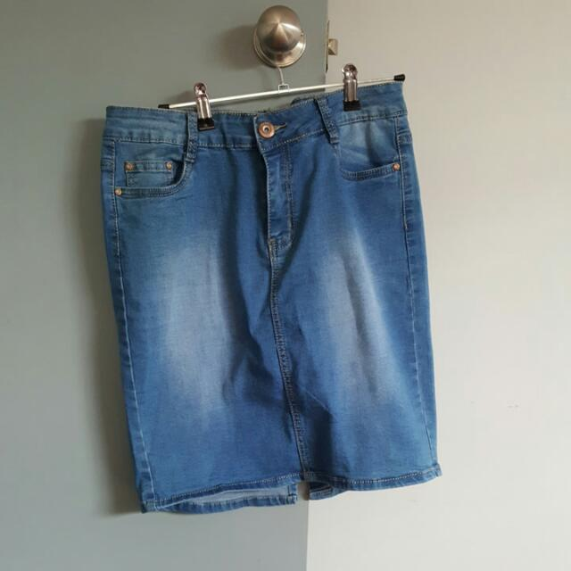 DS Fashion Denim Skirt