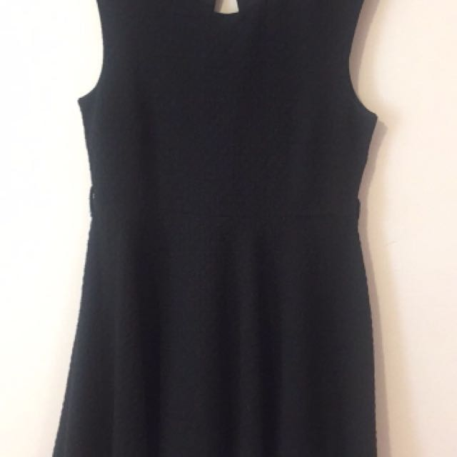 Face To Face Textured Dress