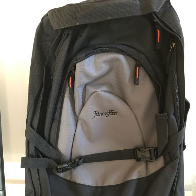 Fitness First Bag With Wheels