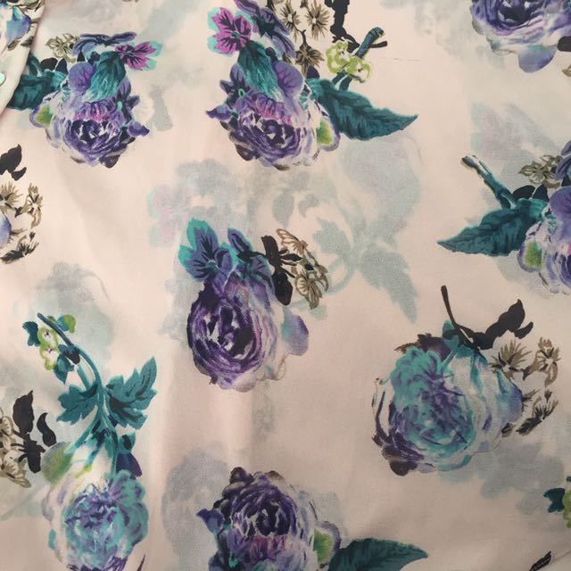Floral Floaty Top