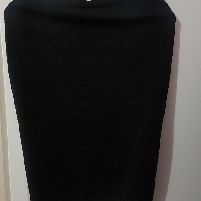 Forcast Black Pencil Skirt