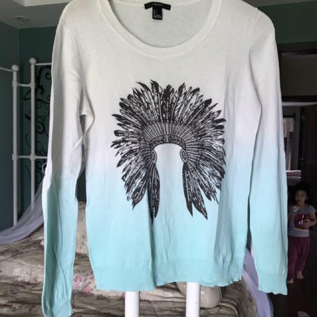 Forever21 Ombre Pullover