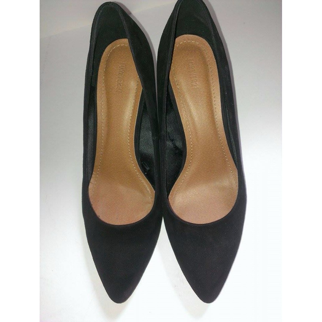 Forever 21 Black Heels, size: 9