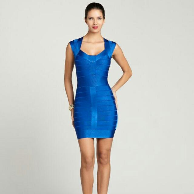 French Connection Electric Blue Dress