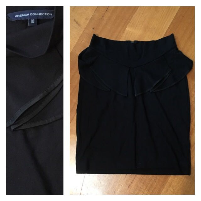 French Connection Stretch Mini Skirt (size 10)