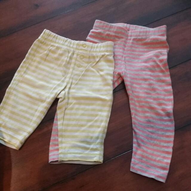 Girl Pants Garis2
