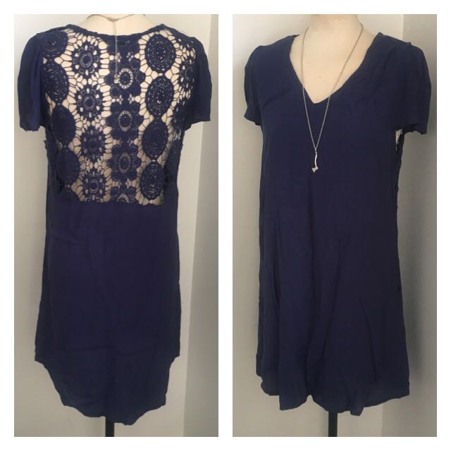 Glassons Embroidered Boho Dress (size 10)