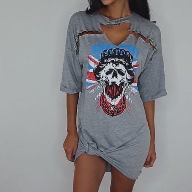 Punk Midi Dress