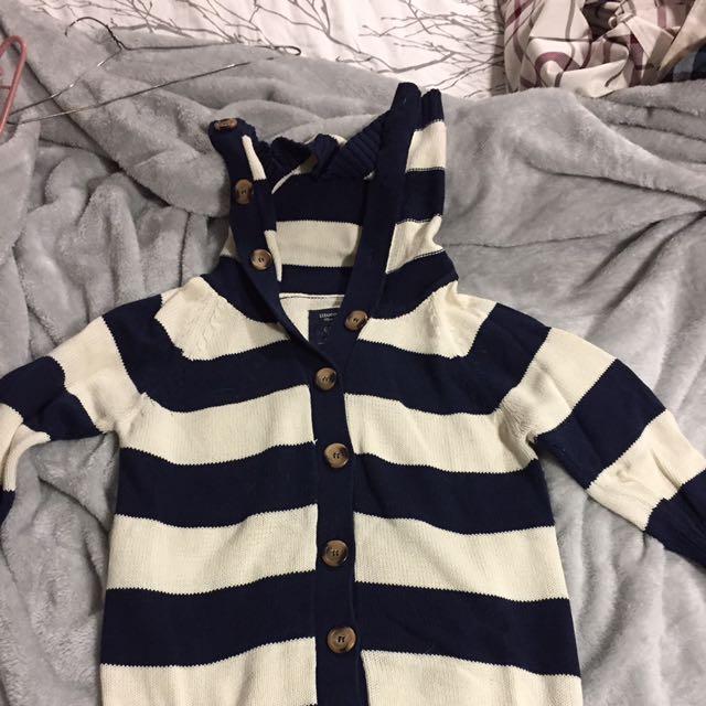 Half Sleeve Bluenotes Sweater