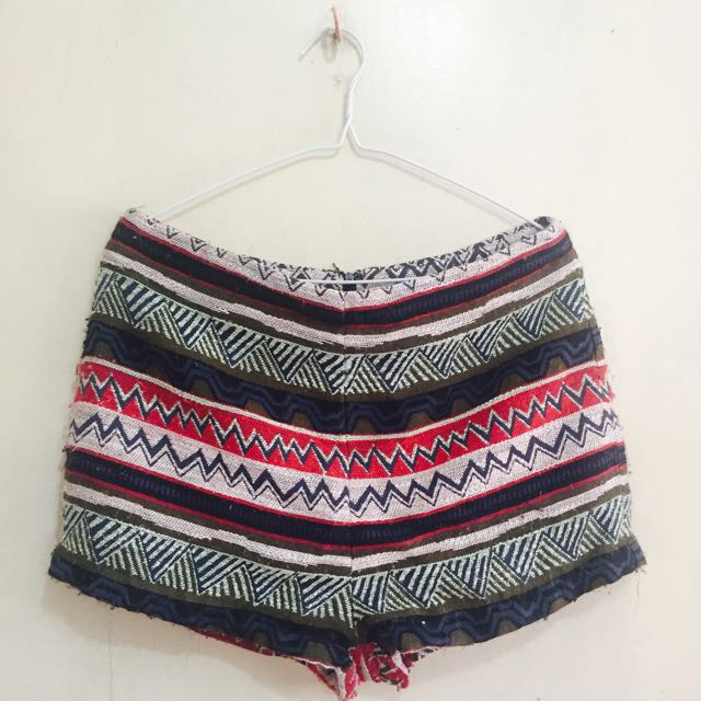 Forever 21 High Waist Shorts (Boho Style)