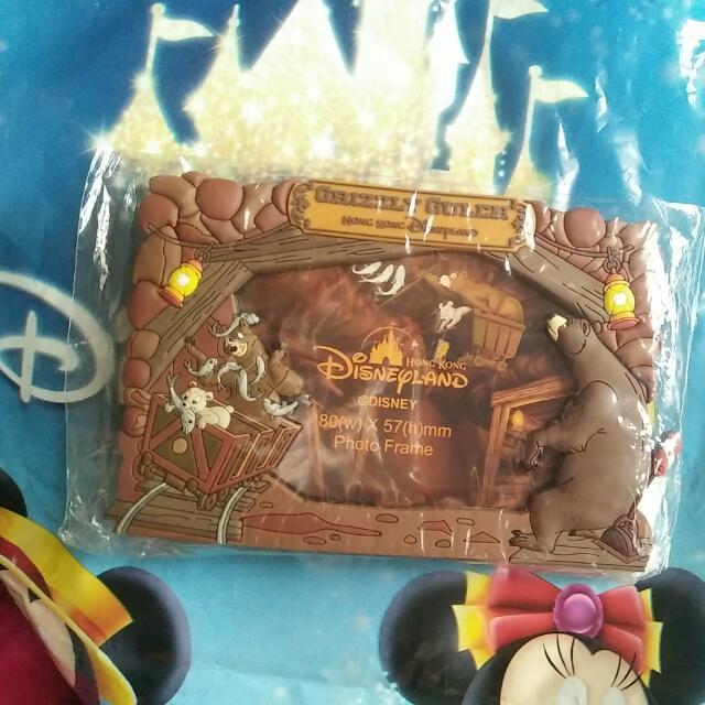 Hing Kong Disneyland Fridge Magnet Frame Everything