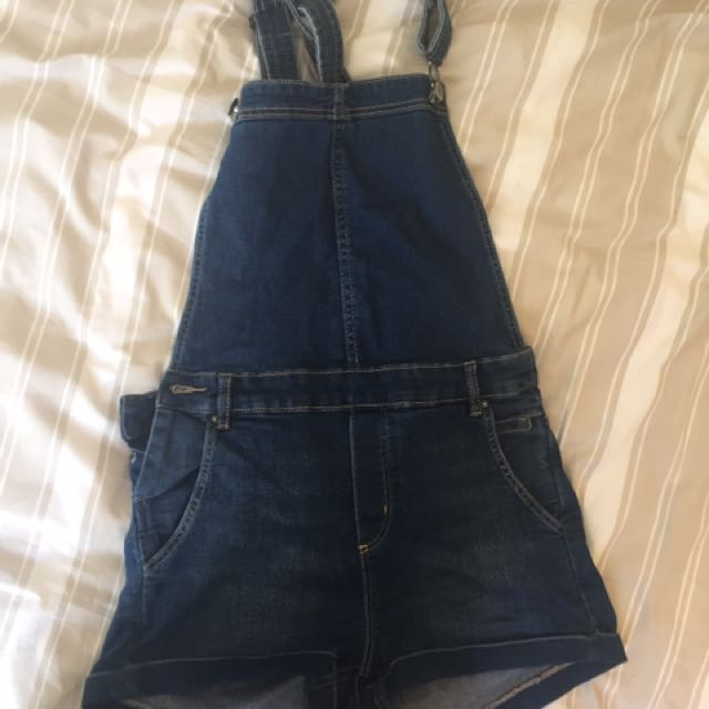 H&M Denim Overalls Size 10