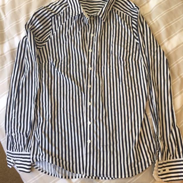 H&M Stripped Shirt