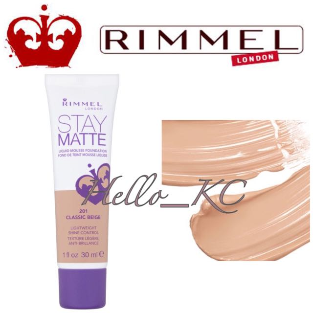 💖INSTOCKS💖 RIMMEL LONDON Stay Matte Liquid Mousse Foundation - CLASSIC BEIGE, Health & Beauty, Makeup on Carousell