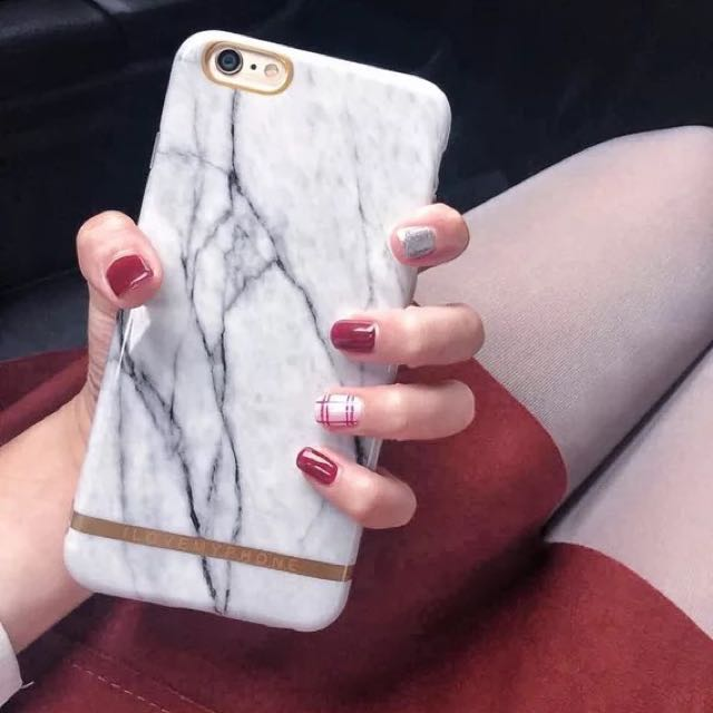 降價全新iPhone6/6S 4.7吋大理石紋手機殼