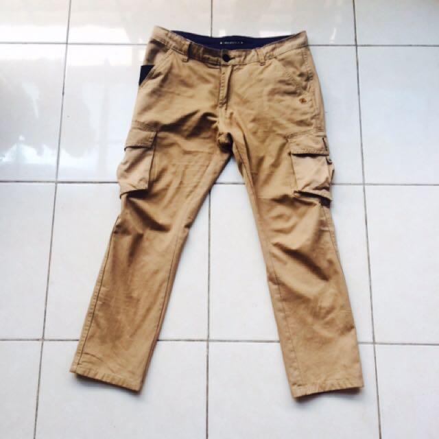 Iwearzule Cargo Pants Khaki