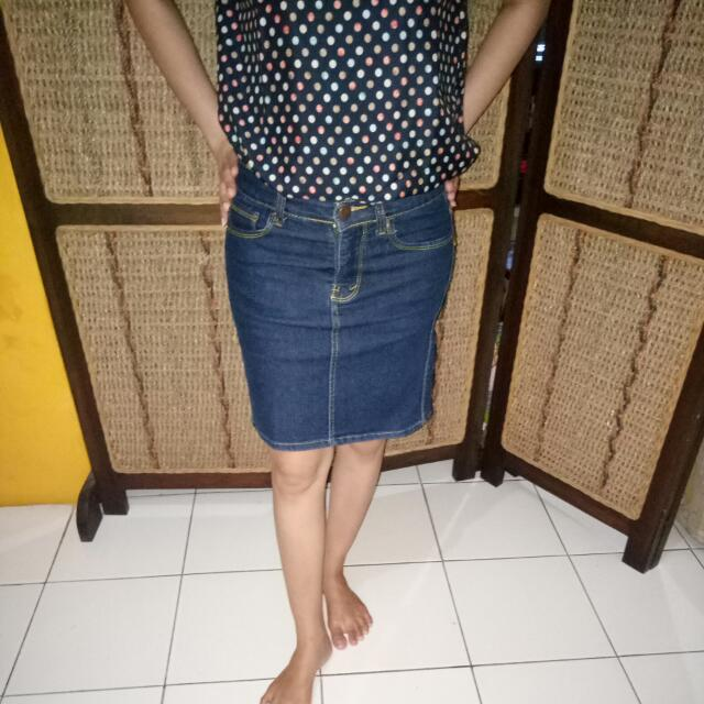 Jeans Skirt aDa