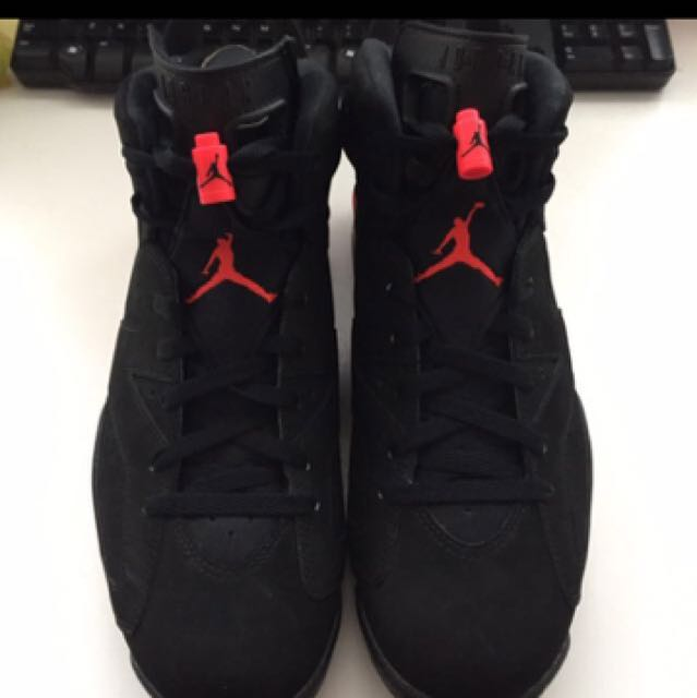 PRICE LOWERED!!! Jordan Black Infrared 6