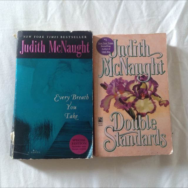 Judith Mcnaught Books - Lot Of 2