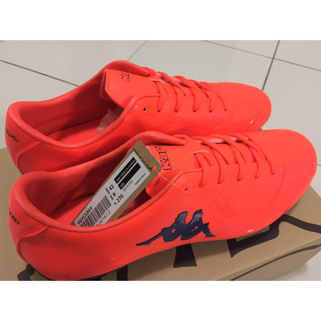49a1c213b302c Kappa Outdoor Soccer   Football Boots Orange Size 8UK