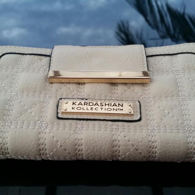 Kardashian Kollection Wallet Beige