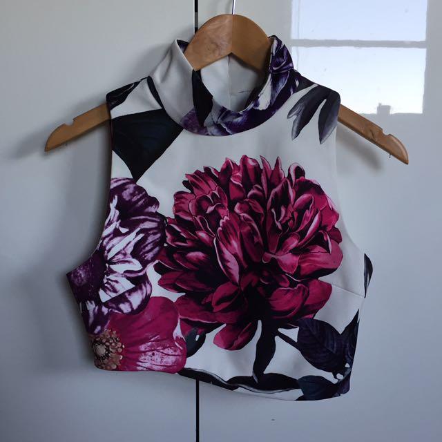 Keepsake Floral Crop Top
