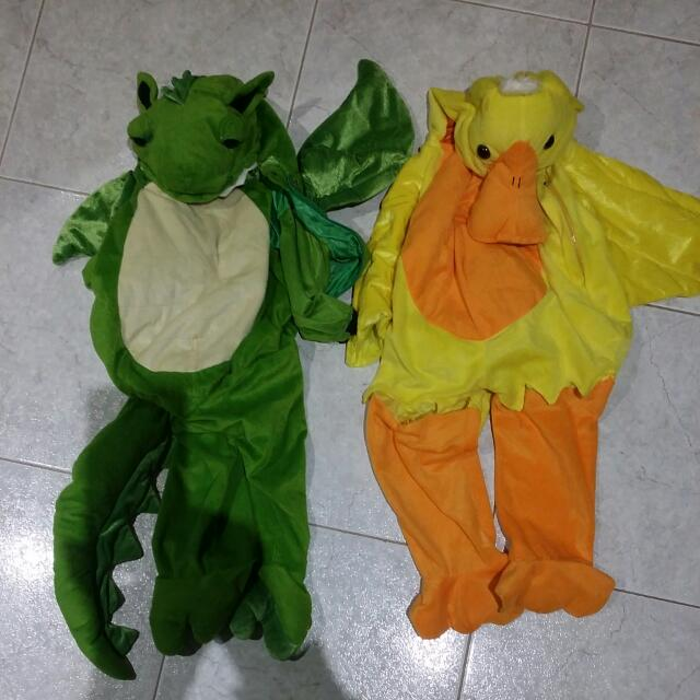 Kids Dress Up Dragon And Duck