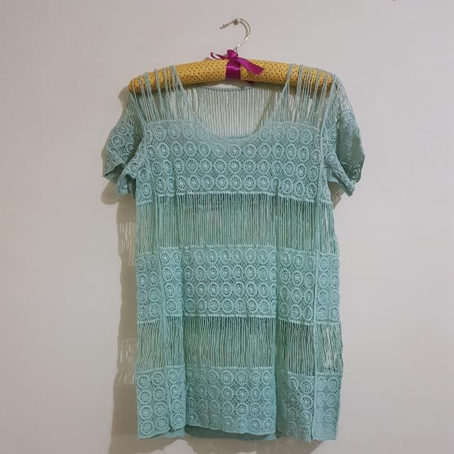 Lace Shirt (Unbranded)