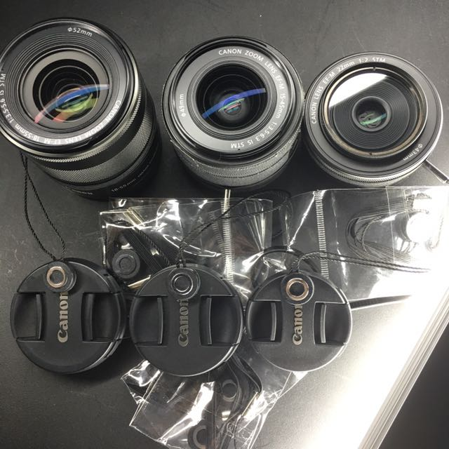 Lens Rope (Canon EOS M Lenses not included)