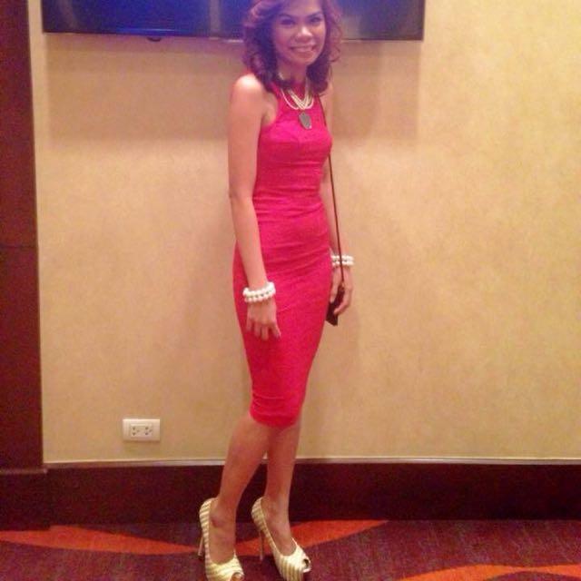Lovemitzi Red Lace Dress