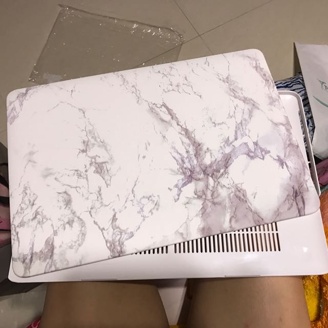 """Macbook 15"""" marble cover"""