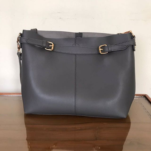 Marie Claire Grey Shoulder Bag