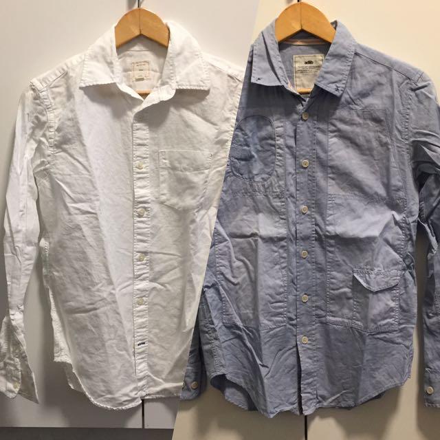 Mens Oxford Shirts XS